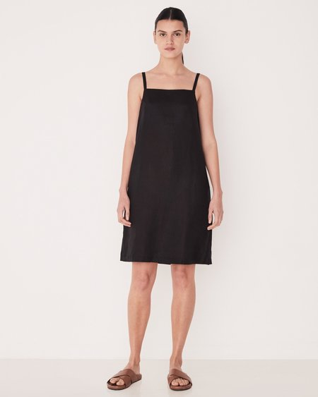 Assembly Label Pinafore Dress - BLACK