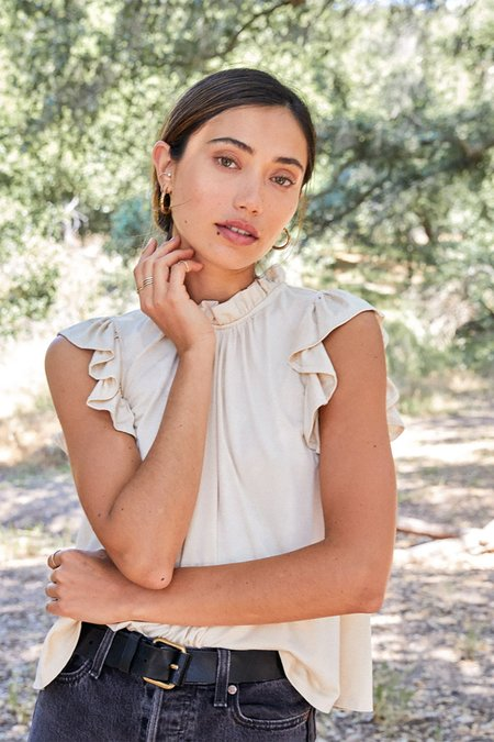 Rachel Pally Phoebe Top - Cream