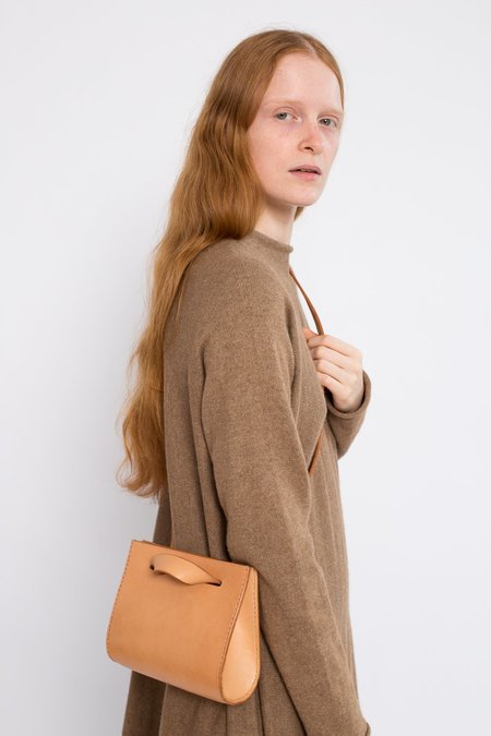 Lauren Manoogian Small Leather  Sling Bag - Natural