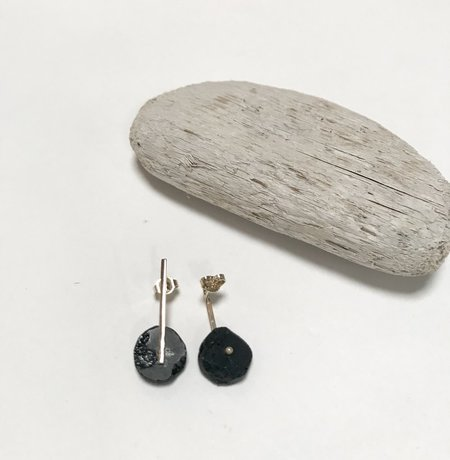 Aesa Petite Pop Gemstone Earrings