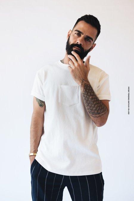 Unisex Maison Ogé The Original Centered Pocket T-Shirt - White
