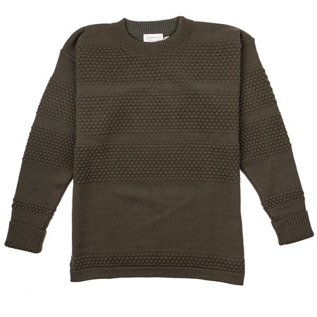 SNS Herning Fisherman Crew Neck - Lacquer Green