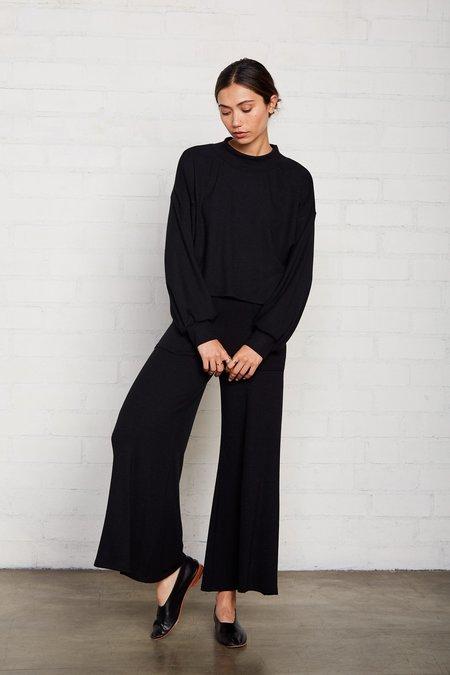 Rachel Pally Luxe Rib Neva Pant - Black