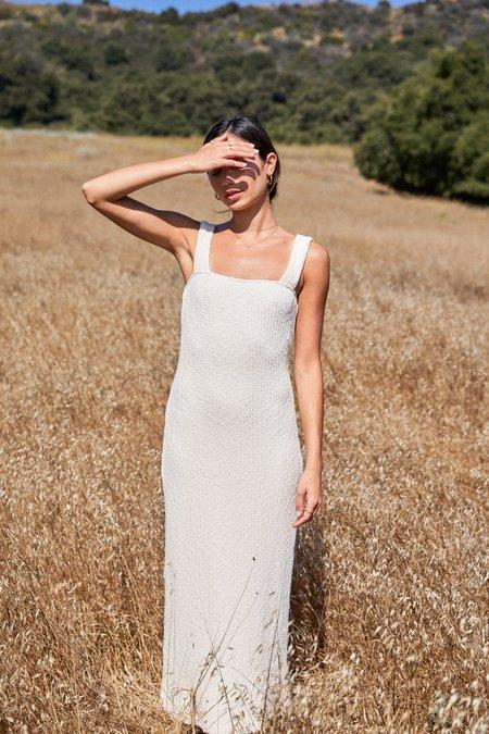 Rachel Pally Sweater Janna Dress - Oatmeal