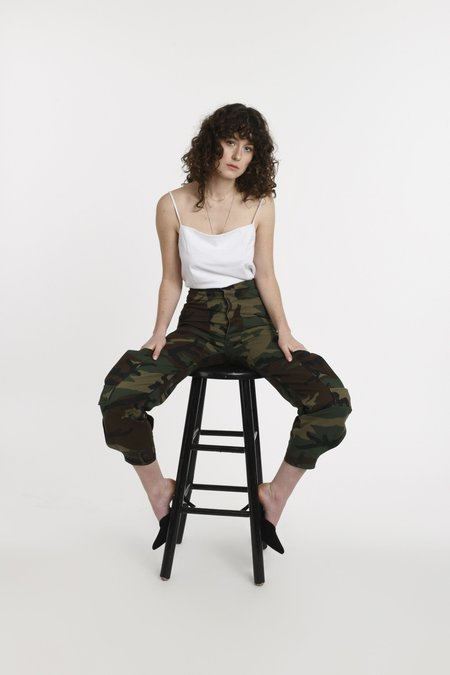 CIE Denim Sansa - Green Camo