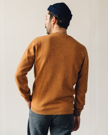 Norse Projects Sigfred Lambswool Sweater - Montpellier Yellow