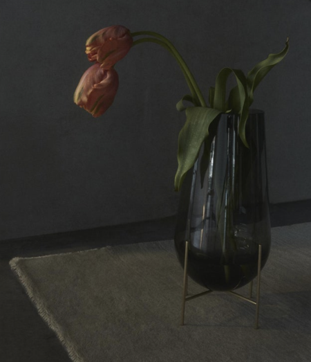 Creative Danes Medium Echasse Vase - Smoke