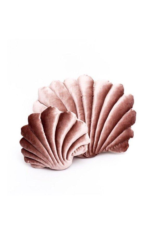 Tamar Mogendorff Shell Pillow - Rusty Pink
