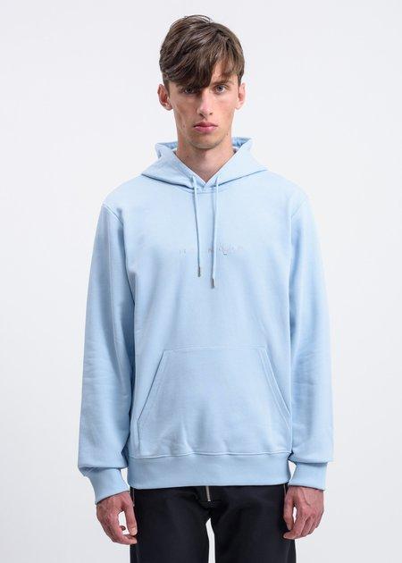 Helmut Lang Alien Hoodie Sweatshirt - Blue