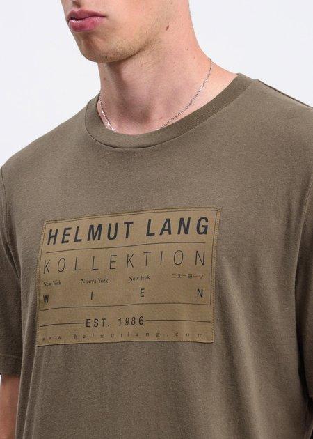 Helmut Lang Patch T-Shirt - Khaki