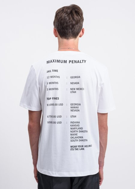 Helmut Lang Helmut Laws T-Shirt - White