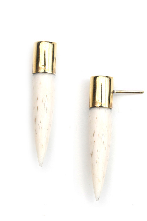 SOKO Capped stud earrings