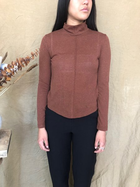 EVE GRAVEL A NEW DAY TOP - CINNAMON