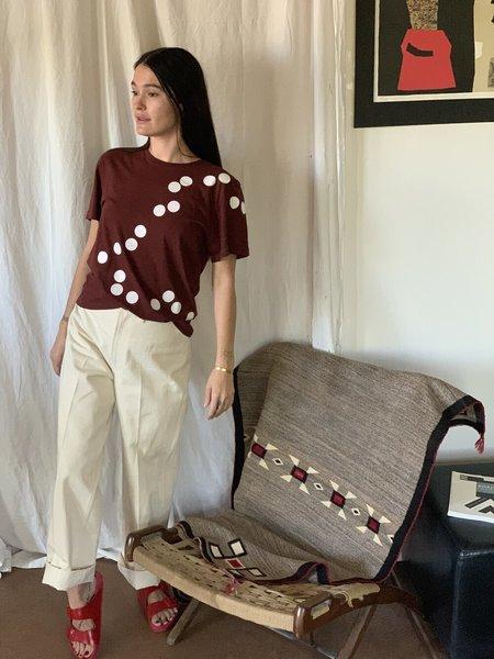 Unisex Correll Correll Olka Mini T-Shirt - maroon