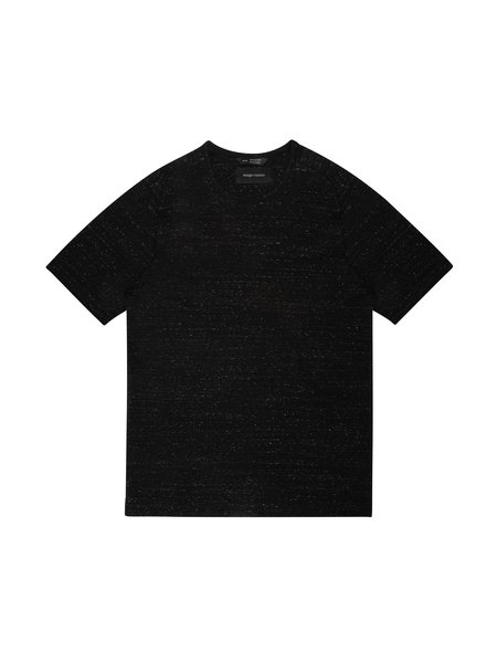 Wings+Horns Knit Signals Short Sleeve T-Shirts - Static Black