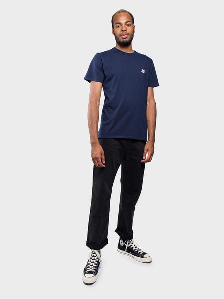 Maison Kitsuné T-Shirt Fox Head - Navy