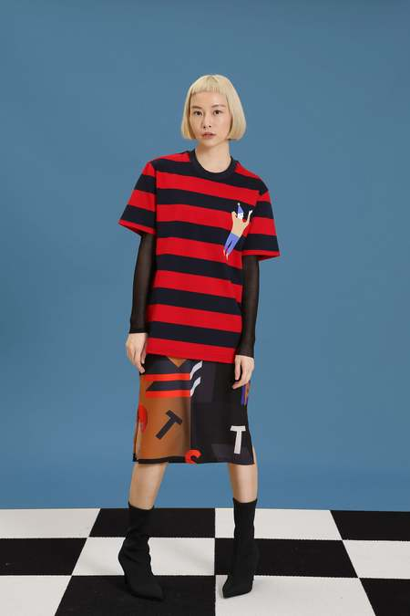 Matter Matters Johnny T-Shirt Dress - Red