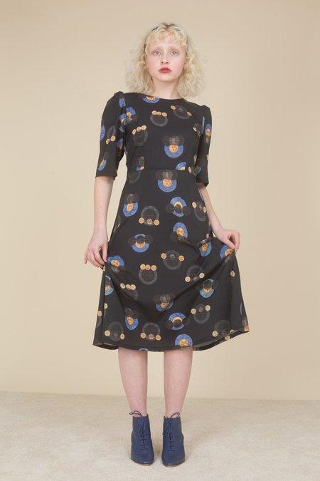 Samantha Pleet Nobel Dress - Galileo Print