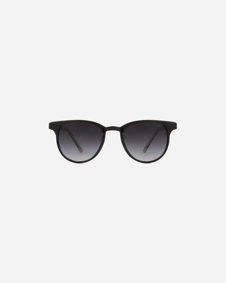 Unisex KOMONO Francis Sunglasses - Black/Ivory