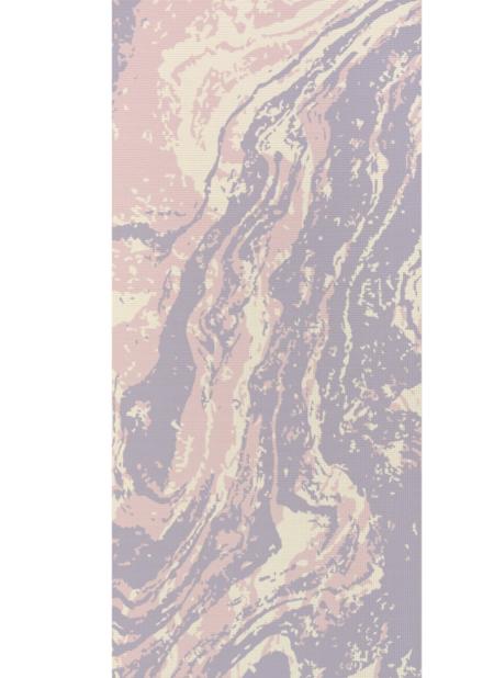 Wildmagic Yoga Mat - pastel marble