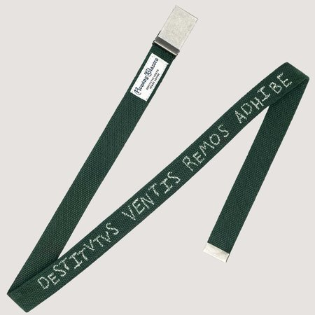 Rowing Blazers Boat Strap Belt - Green