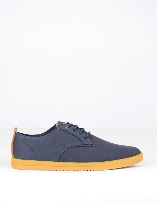 Clae Men's Ellington Textile Deep Navy Canvas