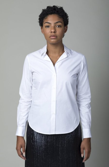 GRAMMAR NYC The Verb Shirt - White