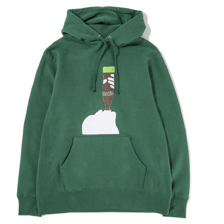 Fucking Awesome Summer Pullover Hoodie - Hunter Green