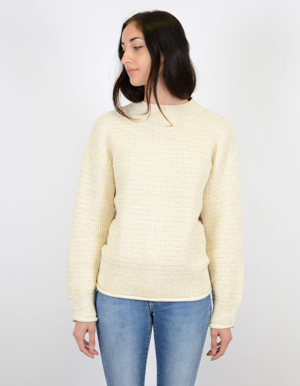 melange knit pullover filippa k