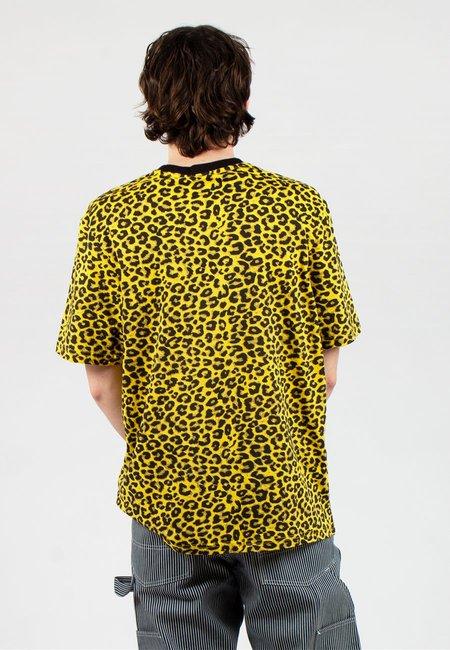 Lazy Oaf Cyber Leopard Print T-Shirt - yellow