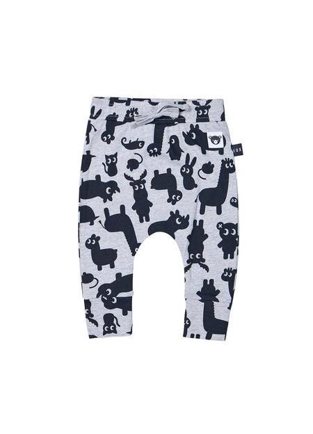KIDS Huxbaby Shadow Animal Drop Crotch Pant