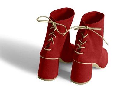 Rafa Sock Boot - Ruby