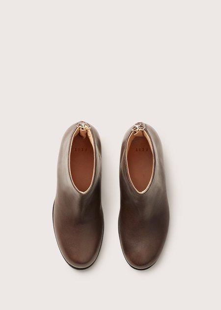 FEIT Bi Color Heel Boot - Dark Grey
