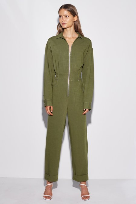 Cameo Clean Slate Jumpsuit - Moss