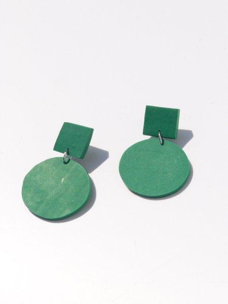 amy george oz earring - green