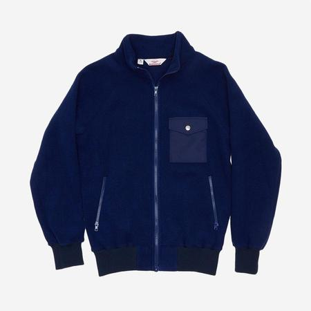 Battenwear Warm-Up Fleece - Navy