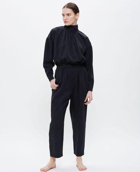 BLACK CRANE Tulip Jumpsuit - Midnight