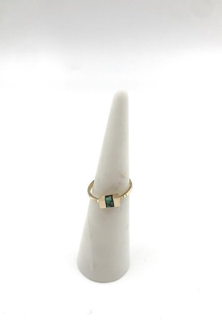Young In The Mountains Keel Ring - 14k Gold