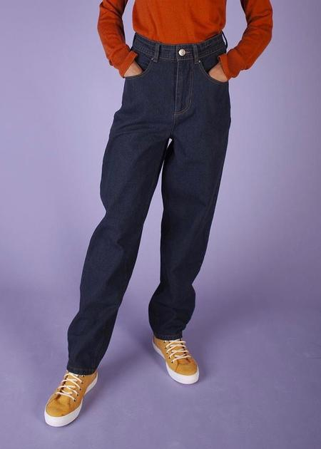 LF markey Johnny Elasticated Jeans - Dark Wash