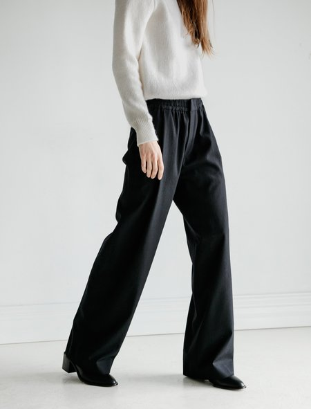 Stephan Schneider Trousers - Shed Black