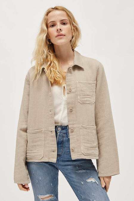 Lacausa Clementine Jacket - Oatmeal