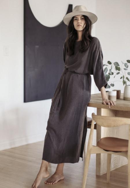 Ozma Gillian Dress - Coal