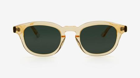 unisex Pala Eyewear Thoko Sunglasses - Yellow Crystal