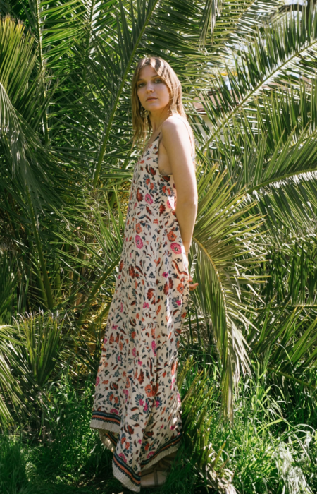 Natalie Martin Heather Maxi - Wildflower Oyster