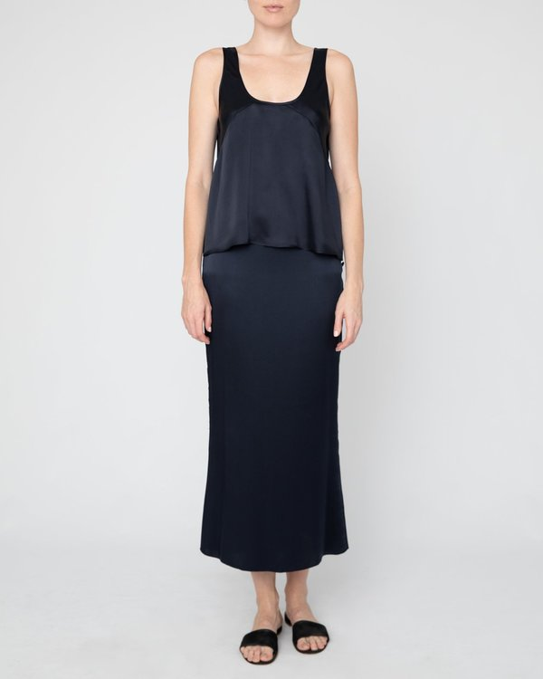 INGA-LENA The Enok Skirt - Midnight Blue