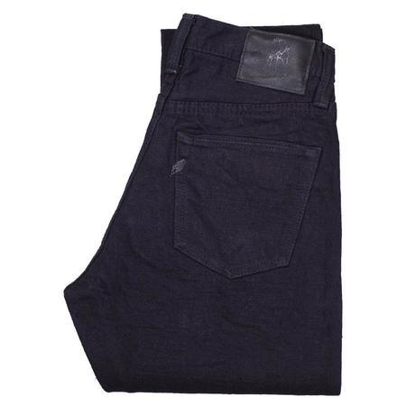 PURE BLUE JAPAN 18OZ RELAXED TAPERED jeans - black