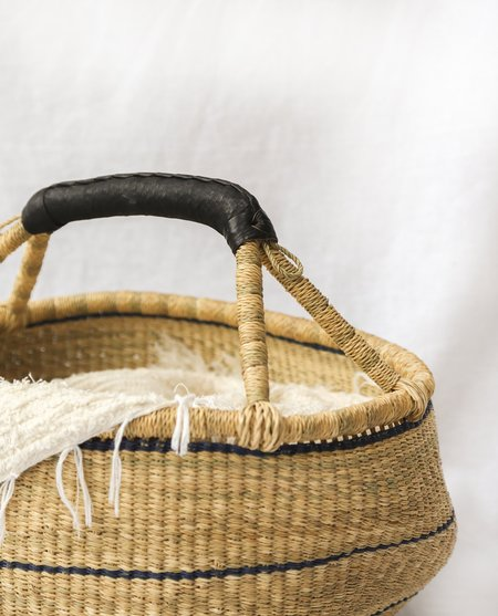 beaumont organic Addae handwoven basket