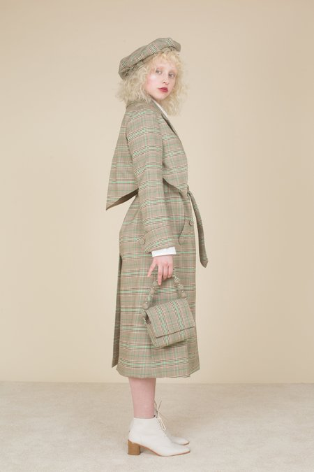 Samantha Pleet Tennyson Trench Coat