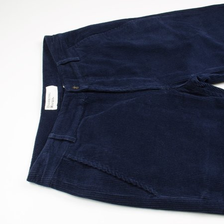 Universal Works Cord Aston Pant - Navy
