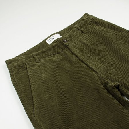 Universal Works Cord Aston Pant - Olive
